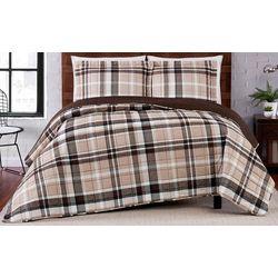 Truly Soft Paulette Plaid Stripe Quilt Set
