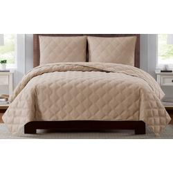 Everyday 3D Puff Quilted Quilt Set