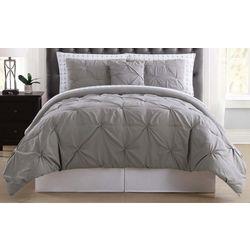Truly Soft Pleated Arrow Comforter Set