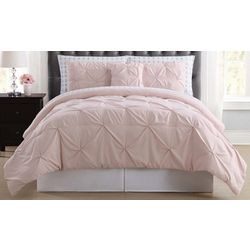 Truly Soft Pleated Arrow Comforter Set