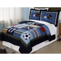 My World All State 3-pc. Full/Queen Quilt Set