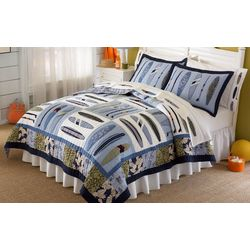My World Catch A Wave 2-pc. Twin Quilt Set