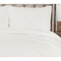 Triangle Home Fashions Diamond Pom Pom Comforter Set