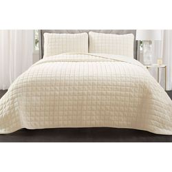 Triangle Home Neeley Fur Quilt Set