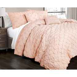 Triangle Home Fashions Ravello Pintuck Comforter Set