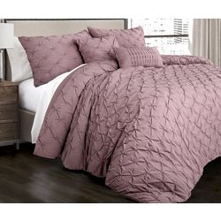 Triangle Home Fashions Ravello Pintuck Comforter Set