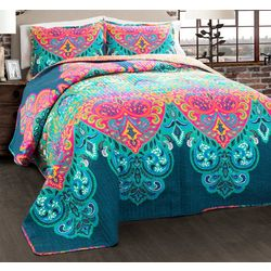 Triangle Home Fashions Boho Chic Quilt Set