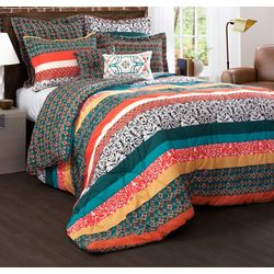 Triangle Home Boho Stripe Comforter Set