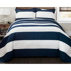 Triangle Home New Berlin Stripe Quilt Set