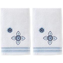 Saturday Knight Kali Embroidered 2-pc. Hand Towel Set