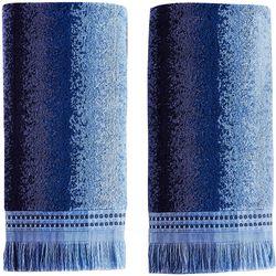 Saturday Knight Eckhart Stripe 2-pc. Hand Towel Set