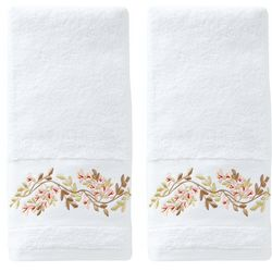 Saturday Knight Misty Floral 2-pc. Hand Towel Set