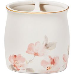 Saturday Knight Misty Floral Toothbrush Holder