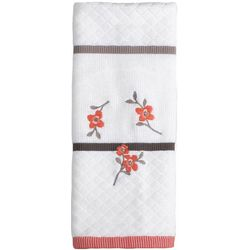Saturday Knight Coral Gardens Ivory Hand Towel