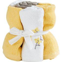 Saturday Knight Spring Garden 6-pc. Wash Cloth Set