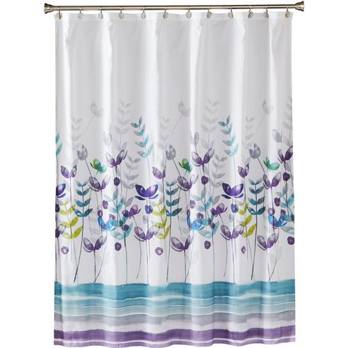 Saturday Knight Watercolor Meadows Shower Curtain