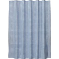 Saturday Knight Chambray Square Shower Curtain