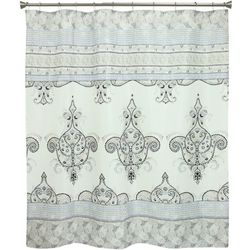 Bacova Willow Grey Shower Curtain
