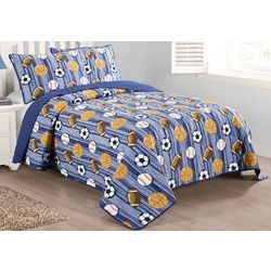 Morgan Home Junior Varsity Quilt Set