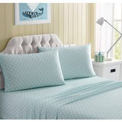 Morgan Home Fashions Kid's Polka Dot Microfiber Sheet Set