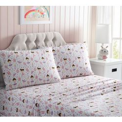 Morgan Home Fashions Kid's Ballerina Microfiber Sheet Set