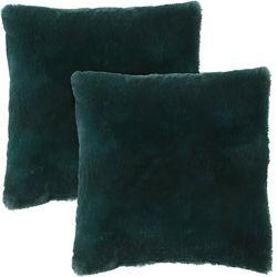 Morgan Home Fashions Millburn Faux Fur Throw Pillow