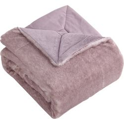 Morgan Home Millburn Faux Fur Throw Blanket