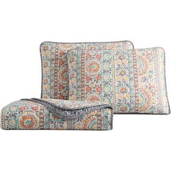 Morgan Home Fashions Colleen Floral Quilt Set