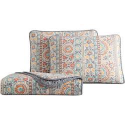 Colleen Floral Quilt Set