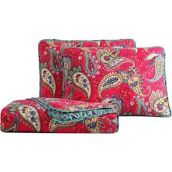 Morgan Home Fashions Avery Paisley Quilt Set