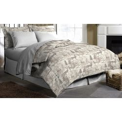 Morgan Home Fashions Porter Lodge Reversible Comforter Set