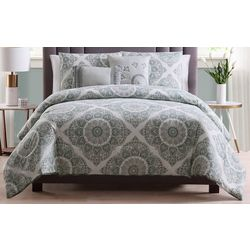 Morgan Home Eva Reversible Medallion 5-pc. Comforter Set
