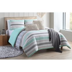 Sand Cloud Baja Striped Comforter Set