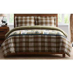 Morgan Home Fashions Mt. Princeton Reversible Comforter Set