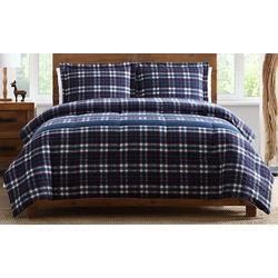 Morgan Home Fashions Lakewood Reversible Plaid Comforter Set