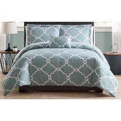 Morgan Home Allyson Gatework Blue 8-piece Bed in