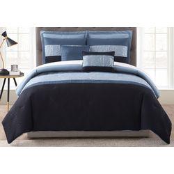 Morgan Home Madison Foil Embellished 7-pc. Comforter Set