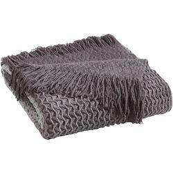 Sand Cloud Baja Grey Ombre Throw Blanket