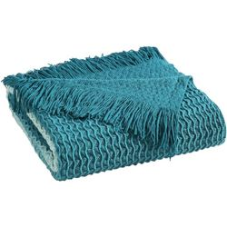 Sand Cloud Kaibu Blue Throw Blanket