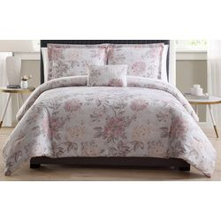 Morgan Home Franklin Pink Floral 8-pc. Bed in