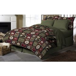 Morgan Home Fashions Harper Lodge Reversible Comforter Set