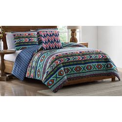 Morgan Home Ava Tribal Print Comforter Set
