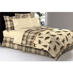Morgan Home Fashions Denali Comforter & Sheet Set