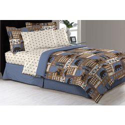 Morgan Home Fashions Manitoba Trail Comforter & Sheet Set
