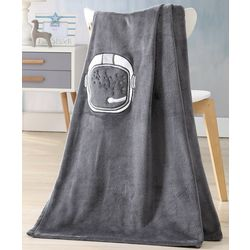 Morgan Home Fashions Kid's Astronaut Throw Blanket