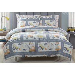 Morgan Home Kid's Construction Land Comforter Set