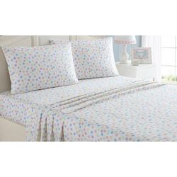 Morgan Home Fashions Kid's Multi Dot Microfiber Sheet Set