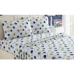 Kid's Far Out Galaxy Sheet Set