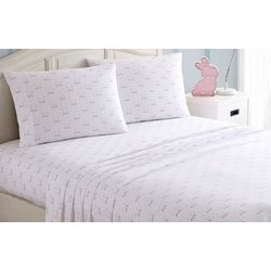 Morgan Home Fashions Kid's Happy Bunny Sheet Set