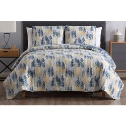 Morgan Home Fashions Terri Reversible Abstract Quilt Set